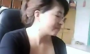 Chinese Mother Receives Aspersive Monster Naughty